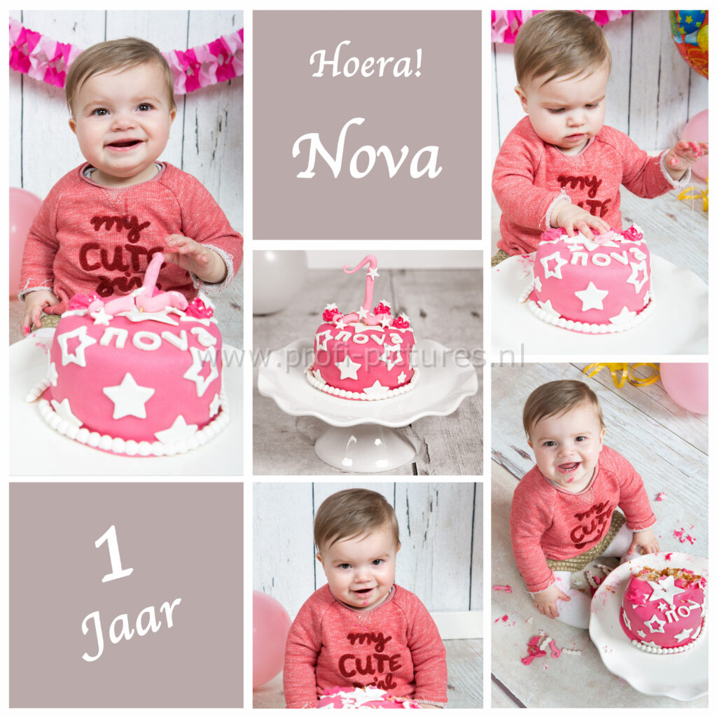Collage cake smash Nova 2